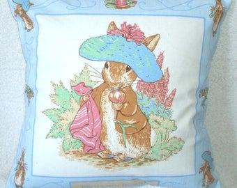 Beatrix Potter Benjamin Bunny cushion