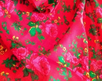Flower fabric roses, Kurdistan fabric rose petals, kurdish wrapped hipp belt