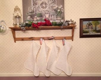 Eyelet Christmas stockings