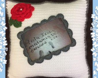 Crochet Custom cushion - Home Decor - Pillows