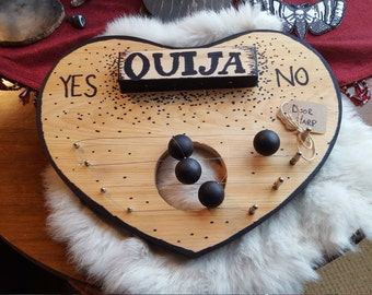 OUIJA DOOR HARP ~ Unique Gift, Spooky Decor, Gothic, Pagan, Wiccan, Witch, Halloween