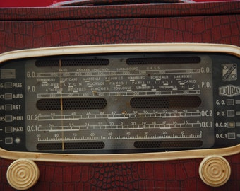 "SALE!!! French Vintage Radio ""Holiday"" by Socradel"