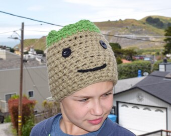 Groot Hat-Baby Groot Hat-Guardians of the Galaxy inspired Hat-Baby Groot Beanie