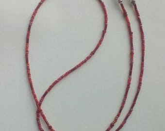 Red glasses chain