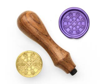 Mandalas Pattern - 15 - Design OD Wax Seal Stamp (DODWS0327)