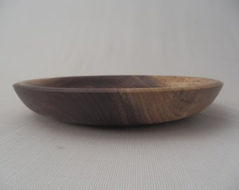 Decorative Wooden Dish Wooden Bowl Cheese Platter Walnut Crotch Hand Turned
