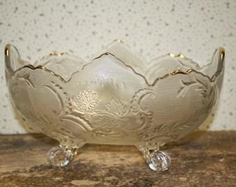 Vintage Glas Bowl