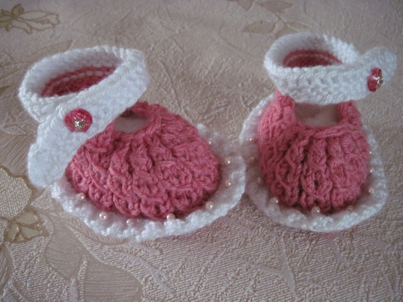 children baby girl booties baby pink shoes hand knitted gift baby girl christmas kids personalized unique baby gift girl pink shoes eco baby