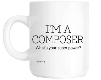 Composer Gift Mug shan1155