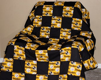 Steelers Quilt Etsy
