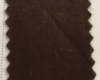 Brown Quilter's Homespun 100% Cotton Fabric 1/2m lengths