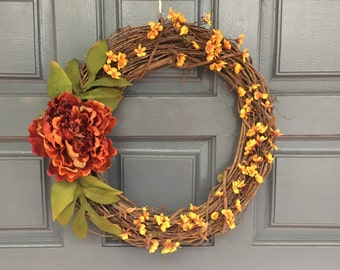 Door Wreath // Fall Wreath // Christmas Wreath // Spring Wreath