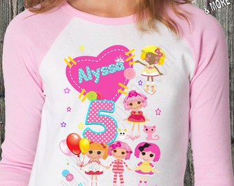 Lalaloopsy Birthday Shirt/Lalaloopsy Family Shirt/Lalaloopsy Shirt/Lalaloopsy Birthday/Lalaloopsy Birthday Party/Lalaloopsy Party/Lalaloopsy