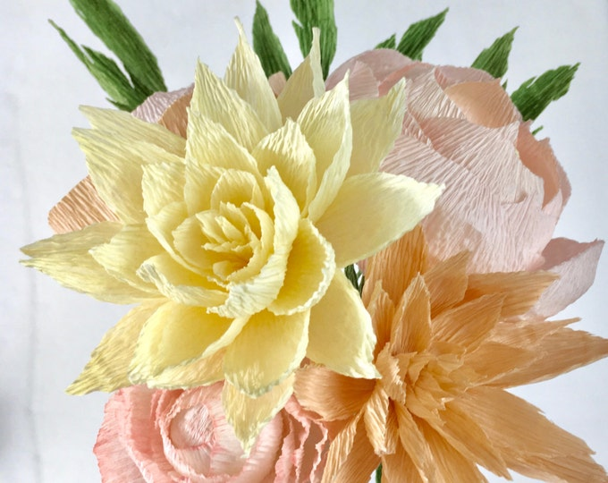 Brittany Paper Flower Bouquet