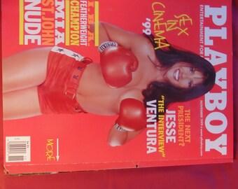Mia St. John Playboy November 1999