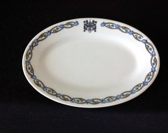 Vintage Shenango Restaurant ware Dish made for The Stearnes Co. Chicago