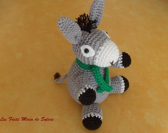 The little grey donkey Erwan