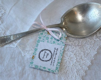 Holmes & Edward: silver plated big spoon for service