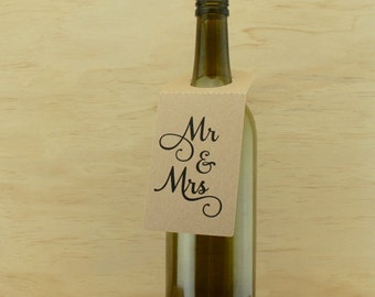 Wine Bottle Gift Tags
