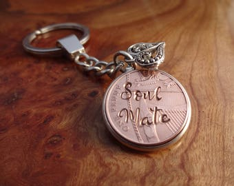 17th Wedding Anniversary Gift 2000 lucky copper Penny personalised girlfriend  gift for her gift for him 100% satisfaction guaranteed