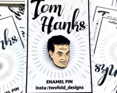 AVAILABLE NOW! Tom Hanks, Enamel pin,