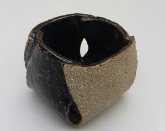Textured small pot