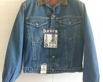 Levi's jacket orange tab size S vintage new with tags