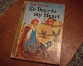 Walt Disney's So Dear To My Heart - A Golden Story Book (1948, 1950)
