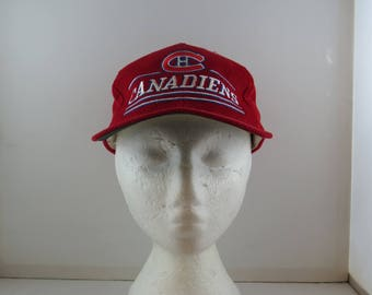 Montreal Canadiens Hat (VTG) - Corduroy Classic by Ted Fletcher - Adult Snapback