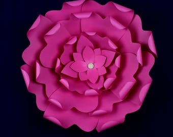 """X-Large, giant paper flower, large paper flower, big paper flower for any occasion """"ELLIE"""""""