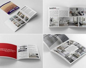 Square Design Booklet