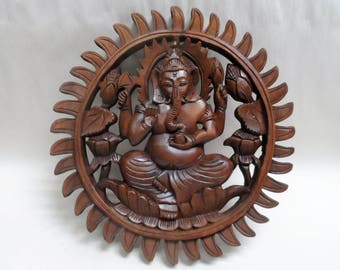 Gnesh wood carving (#gnshwl11)