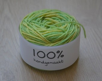 Dyed wool color ' Jade '