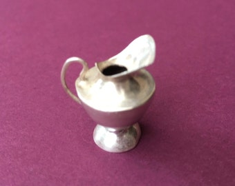 Cute Little Miniature Sterling Silver Dollhouse Water Pitcher