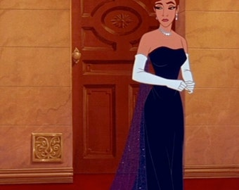 Anastasia blue oprea dress *in progress*