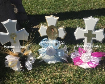 First Communion or Baptism  Centerpiece for your party.