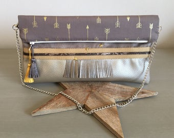 """Cover of night """"Arrow Chic"""" - evening pouch - pouch wedding Collection"""