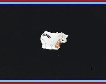 Alaska Polar Bear Pin