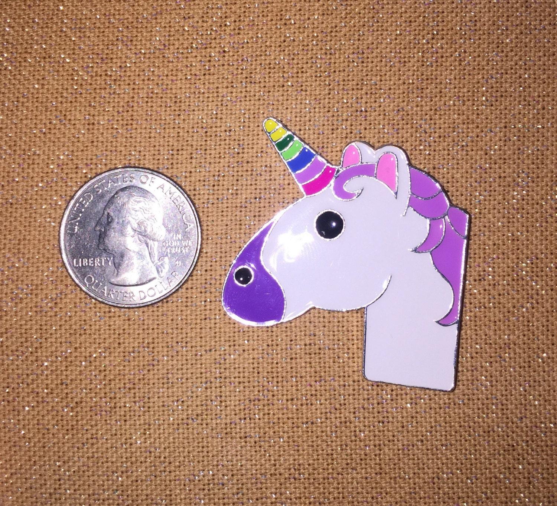 Emoji Knitting Needles : Needle minder unicorn emoji needleminder knack keeper magnet