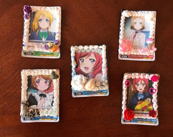 Decoden Love Live Cards