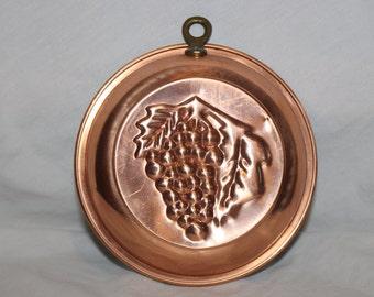 Copper Grape Mold
