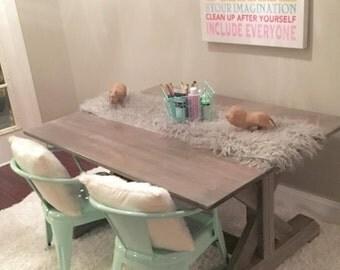 Kids Farmhouse Table