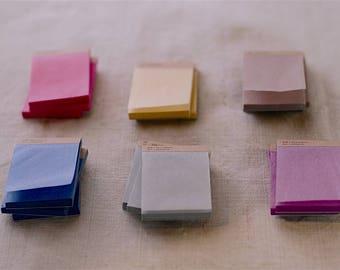 Classiky Silk Paper Mini Notepad