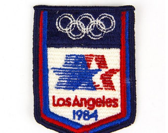 Los Angeles 1984 Olympics Vintage Patch