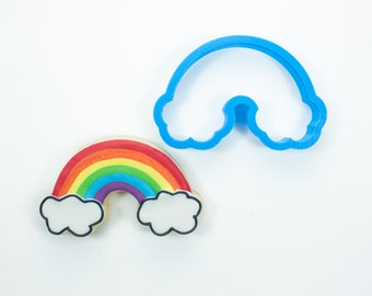 Rainbow Cookie Cutter | Birthday Cookie Cutters | Baby Shower Cookie Cutters | Mini Cookie Cutter | 3D Cookie Cutters | Cute Cookie Cutters