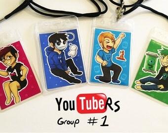 Youtuber Lanyard Cards_Group 1_OukaMocha