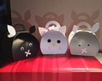 Kitty Curvy Party favor boxes-24