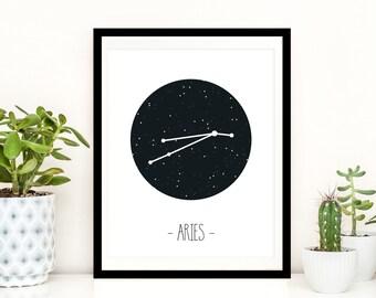 Starsign Print - Aries