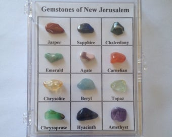 Gemstones of New Jerusalem Real Stones