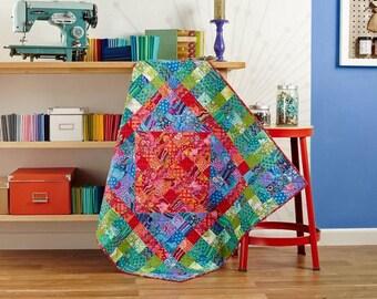 "Fantastic Colors Baby Quilt  36"" x36"""